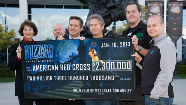 Blizzard raccoglie 2,3 milioni di Dollari per le vittime dell'uragano