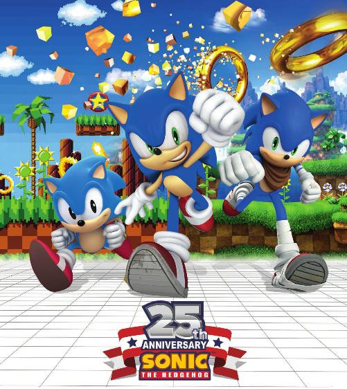 Sonic 25th Anniversary: SEGA pubblica un poster promozionale
