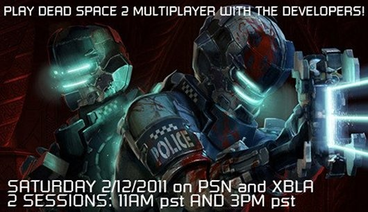 Gioca a Dead Space 2 con gli sviluppatori