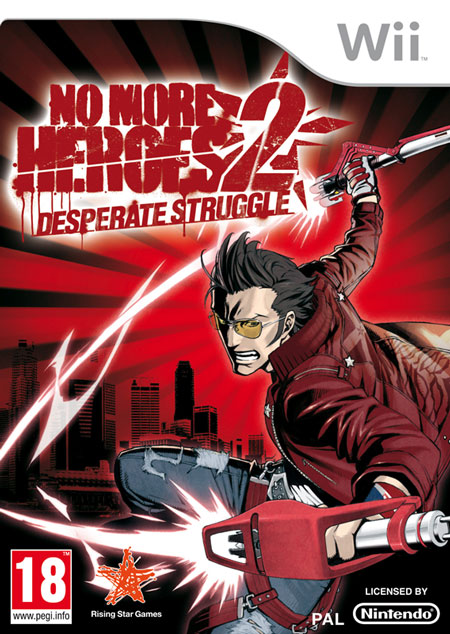 No More Heroes 2: Desperate Struggle, Copertina Europea