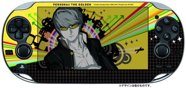 Persona 4 The Golden: Atlus regala una skin protettiva per PS Vita con le prime copie giapponesi