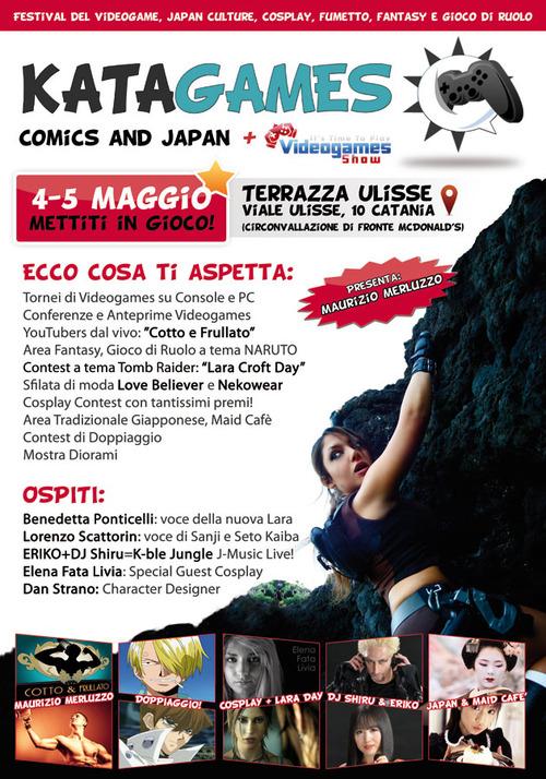 Il 4 e 5 maggio parte Katagames, il primo evento del Meridione dedicato ai videogiochi e alla cultura giapponese