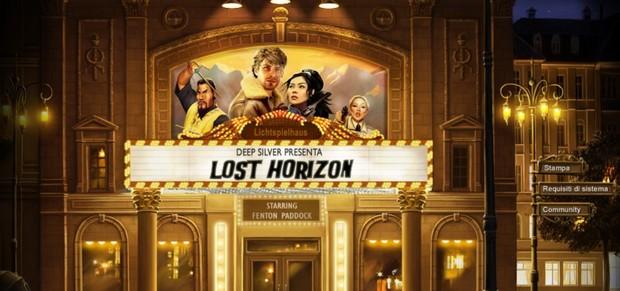 Lost Horizon, aperto il sito web ufficiale