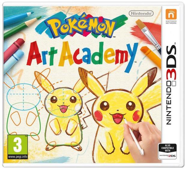 Pokemon Art Academy: pubblicata la boxart ufficiale europea