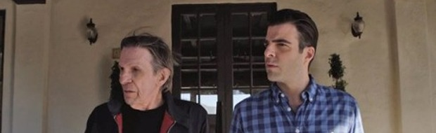 Into Darkness - Star Trek: Leonard Nimoy contro Zachary Quinto in uno spot dell'Audi