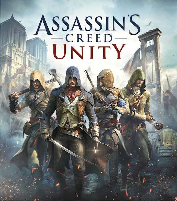 Assassin's Creed Unity: artwork di copertina