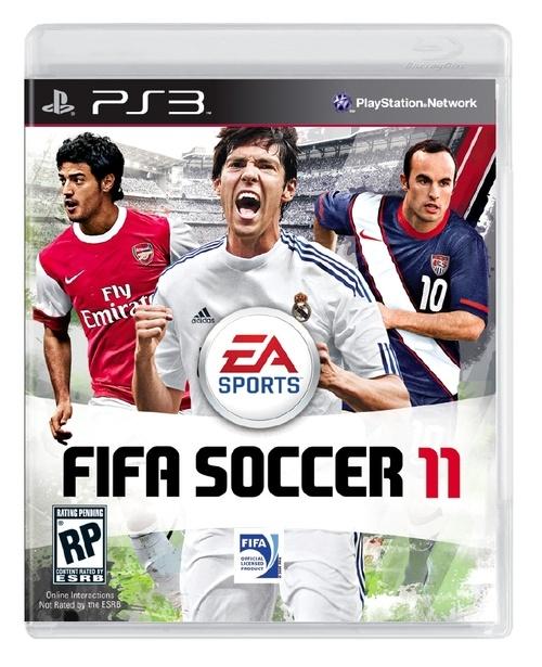 Fifa 2011: tris di campioni per la cover americana