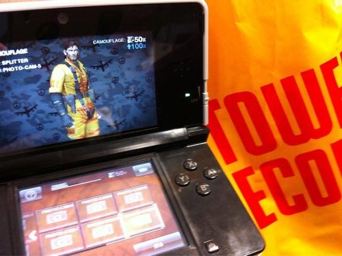 Metal Gear Solid Snake Eater 3D: alcune foto del sistema di camuffamento
