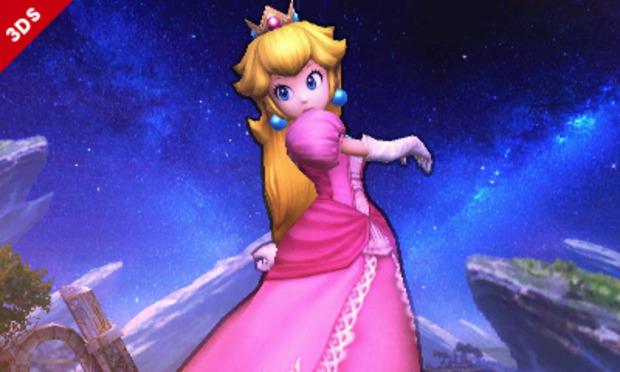 Super Smash Bros: Peach si mostra in una valanga di immagini
