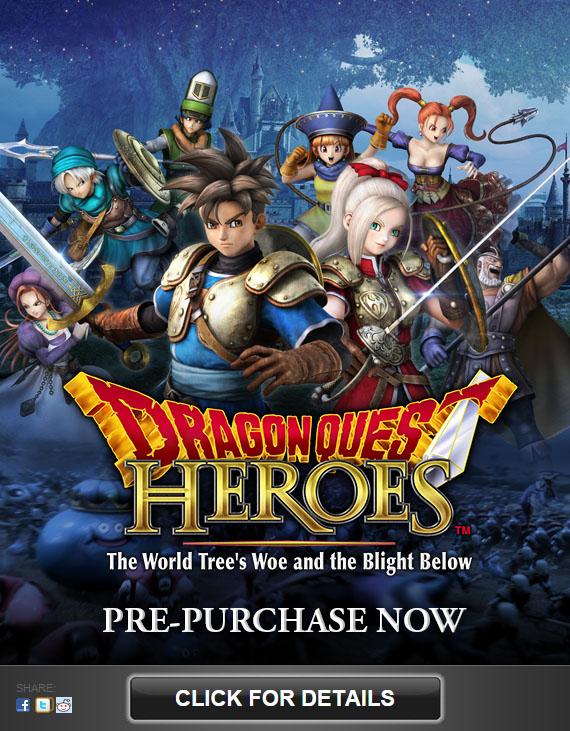 Dragon Quest Heroes in arrivo anche su PC