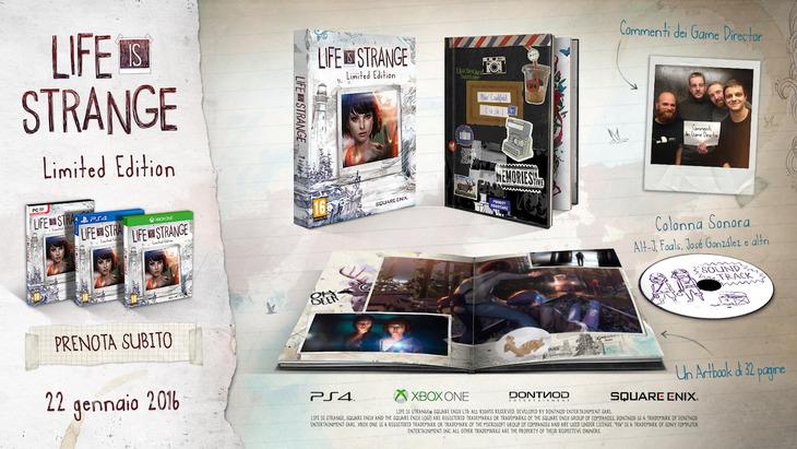 Life is Strange: l'edizione retail sarà disponibile dal 22 gennaio in Europa