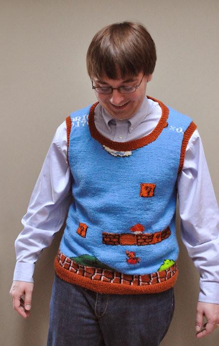 Il maglione più nerd del mondo.