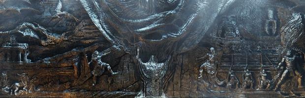 The Elder Scrolls V: Skyrim, Il muro di Alduin in dettaglio