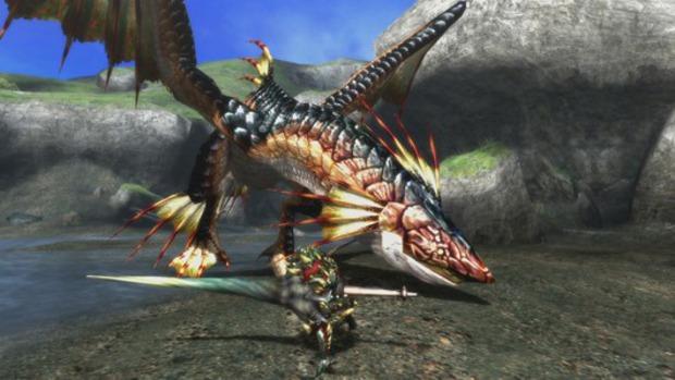 Nuovi screen di Monster Hunter 3 rivelano il ritorno di Plesioth