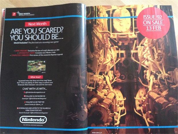 In arrivo un nuovo 'spaventoso' titolo per console Nintendo