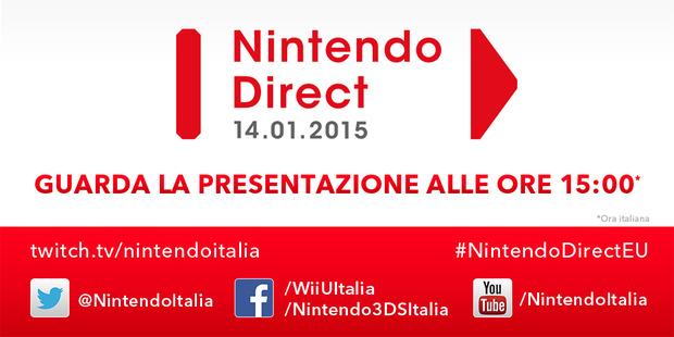 Nintendo Direct: presentazione line-up primaverile Wii U e 3DS dalle ore 15:00