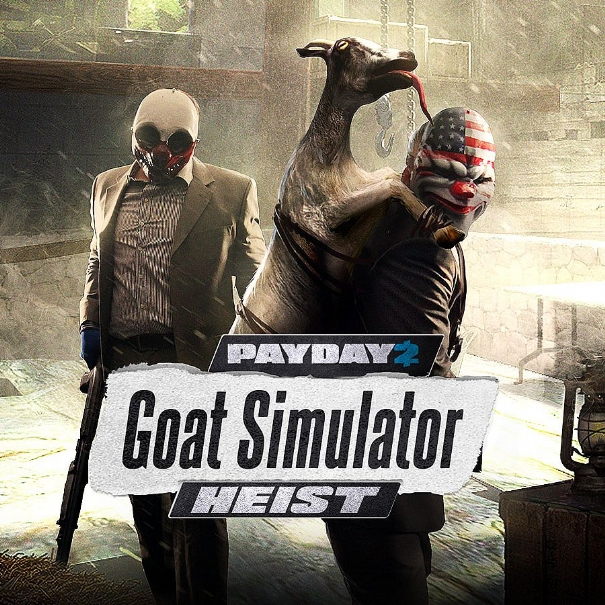 Payday 2 incontra Goat Simulator nel nuovo DLC