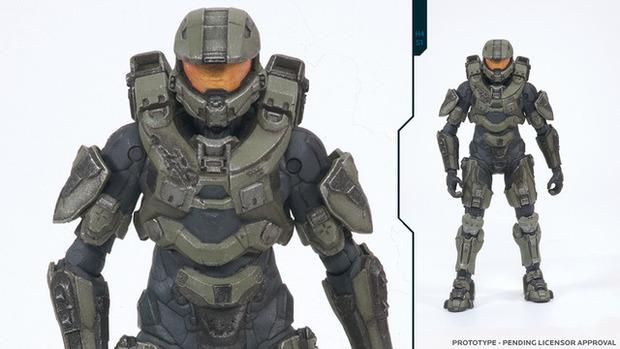 Il nuovo look di Master Chief in Halo 4 grazie ad un'action figure