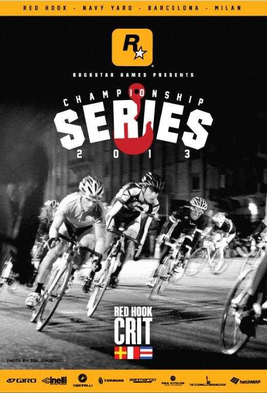 Rockstar Games presenta il Campionato di Ciclismo Red Hook Criterium 2013