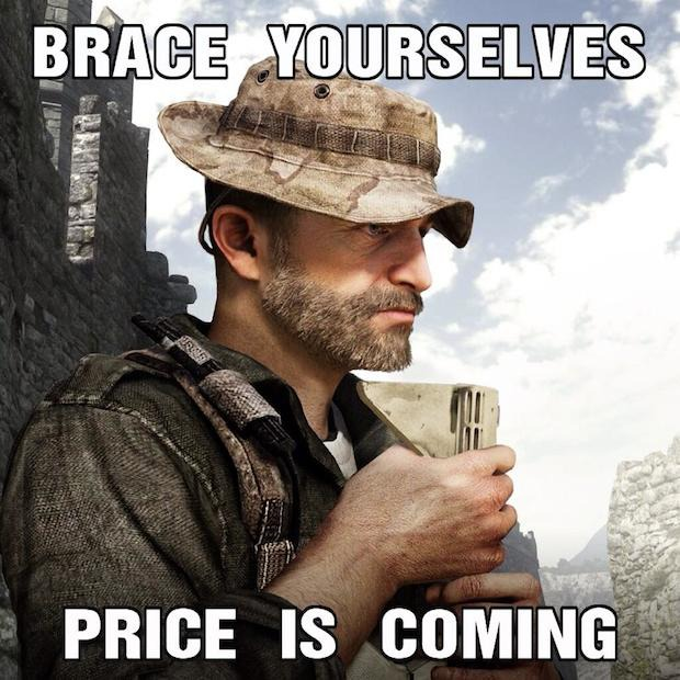 Call of Duty Ghosts: DLC dedicato al Capitano Price?