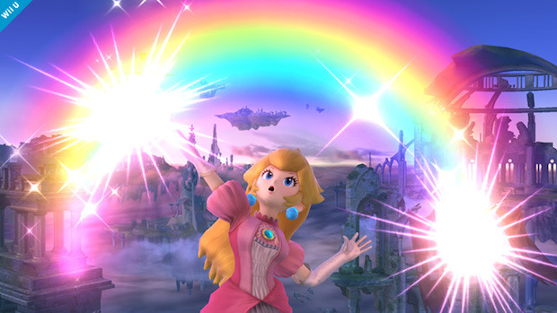 Super Smash Bros: screenshot dedicato a Peach