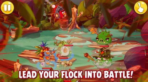 Angry Birds: Epic - pubblicata la prima immagine