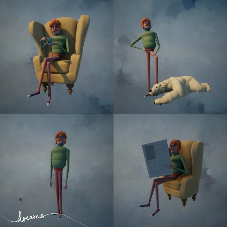 Dreams: Ecco l'editor per la creazione dei personaggi