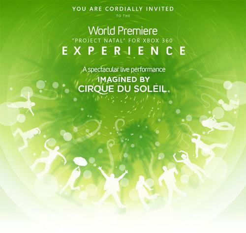 Project Natal: performance del Cirque du Soleil alla premier mondiale dell'E3