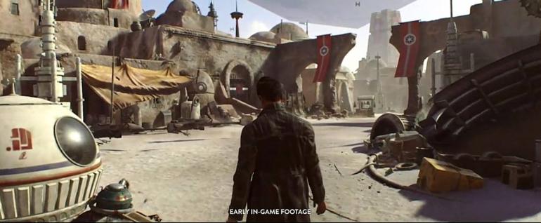 Star Wars di Visceral Games: prima immagine del gioco