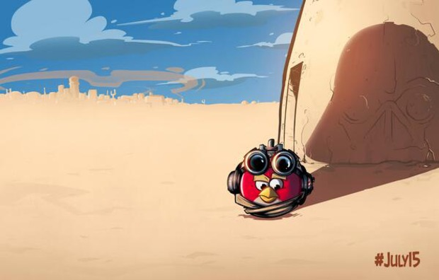 Angry Birds Star Wars: Rovio pubblica un immagine teaser