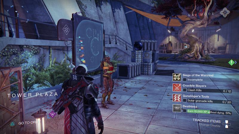Bungie mostra le prime immagini della nuova pagina progressi di Destiny