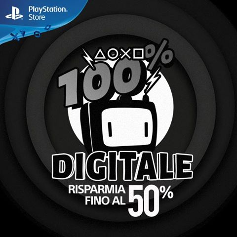 PlayStation Store: 50% di sconto con le offerte 100% Digitale