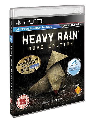 Heavy Rain: data e dettagli per la Move Edition