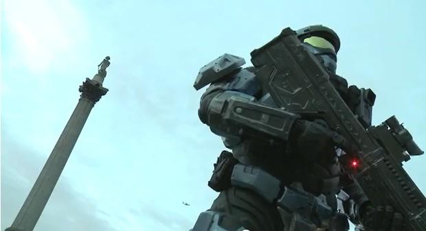 Halo: Reach, uno Spartan in jetpack a Londra!
