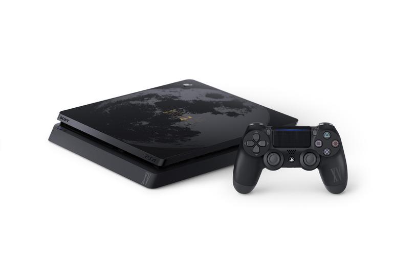 PlayStation 4 Slim Final Fantasy XV Lunar Edition annunciata anche per l'Europa