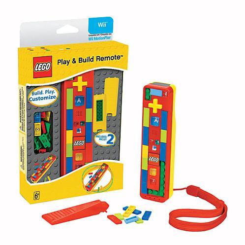 LEGO annuncia un Wii Remote fatto di mattoncini