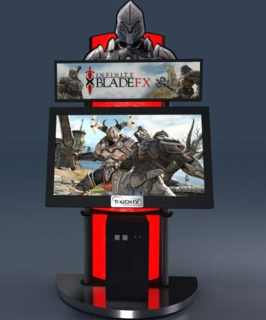 Infinity Blade: negli USA arriva in versione Arcade con pannello touch da 46 pollici