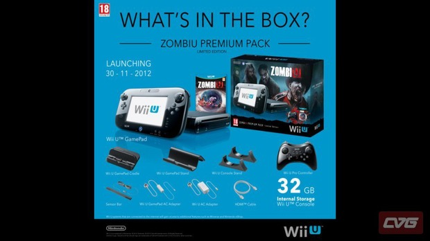 Rivelato il bundle della console Wii U dedicato a ZombiU