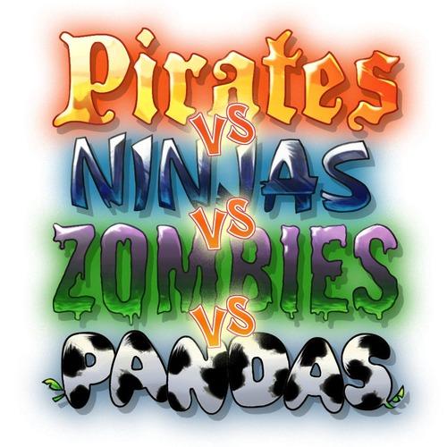 Pirates vs Ninjas vs Zombies vs Pandas, nuovo arcade in arrivo su App Store