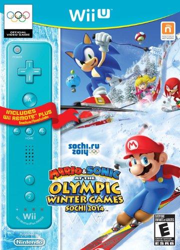 Mario & Sonic ai Giochi Olimpici Invernali di Sochi 2014: bundle con Wii Remote Plus