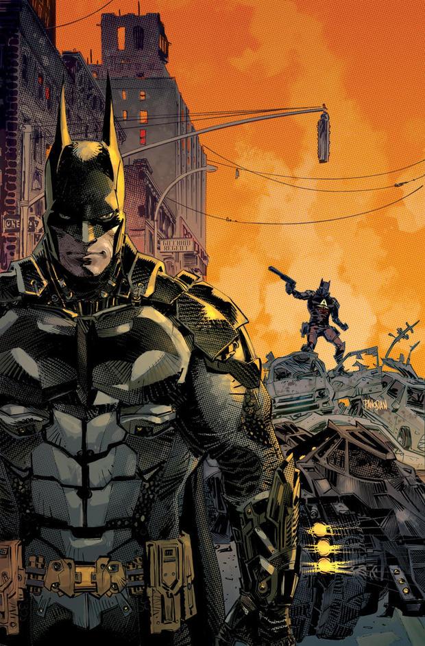Batman Arkham Knight: annunciato il prequel a fumetti