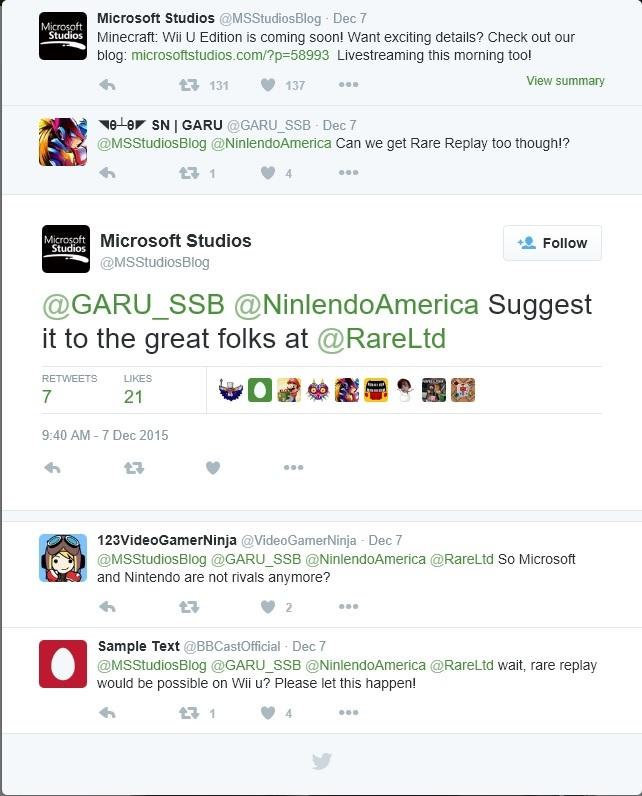 [Aggiornata] Rare Replay potrebbe arrivare su Wii U?