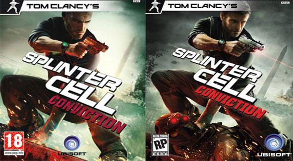Splinter Cell Conviction cambia anche la copertina