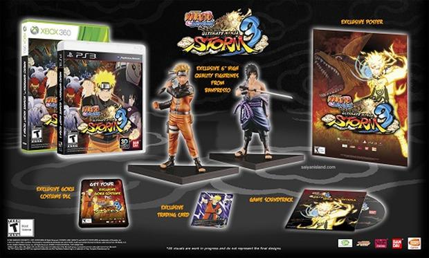 Naruto Shippuden Ultimate Ninja Storm 3, annunciata la Collector's edition
