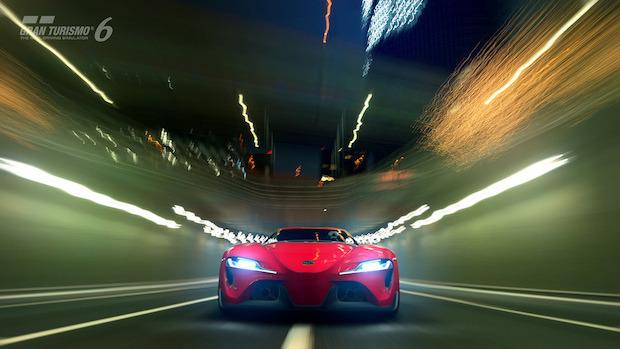 Gran Turismo 6: la Toyota FT-1 Concept Coupe si mostra in video