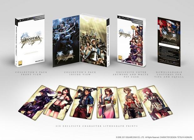 Dissidia Duodecim Final Fantasy: dal 25 Marzo la standard e la legacy edition