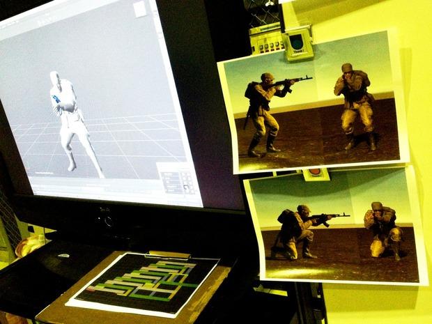 Kojima Productions: test di motion capture con il nuovo engine in uno scatto fotografico