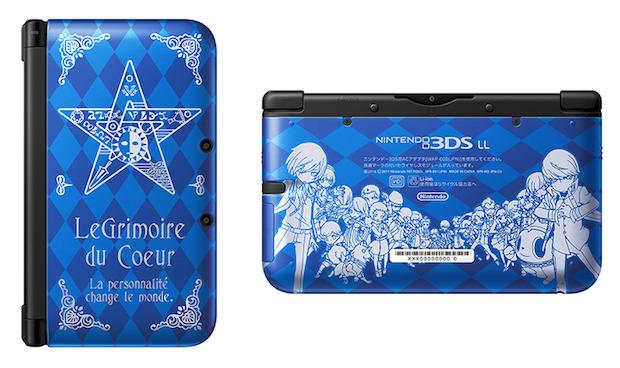 Persona Q Shadow of the Labyrinth: svelato il design del Nintendo 3DS XL in edizione limitata