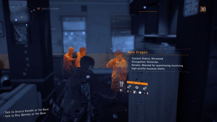 The Division: scoperto un easter egg dedicato ad Uncharted