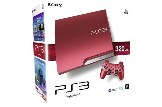 PlayStation 3: nel Regno Unito arriva la console rossa da 320 GB